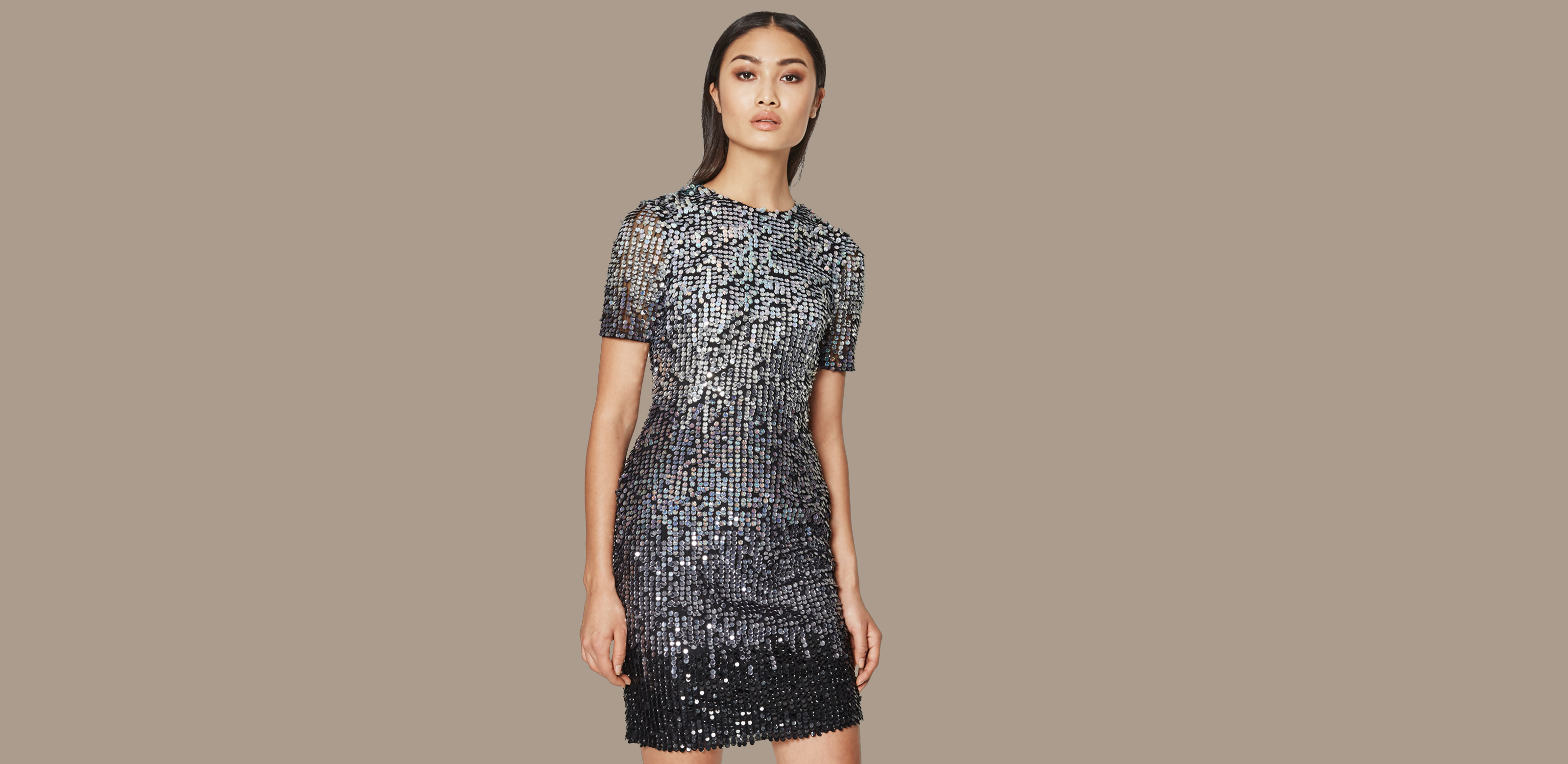 silver dress 2016 fashion