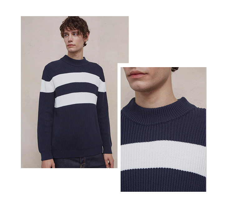 Men's Striped Sweater