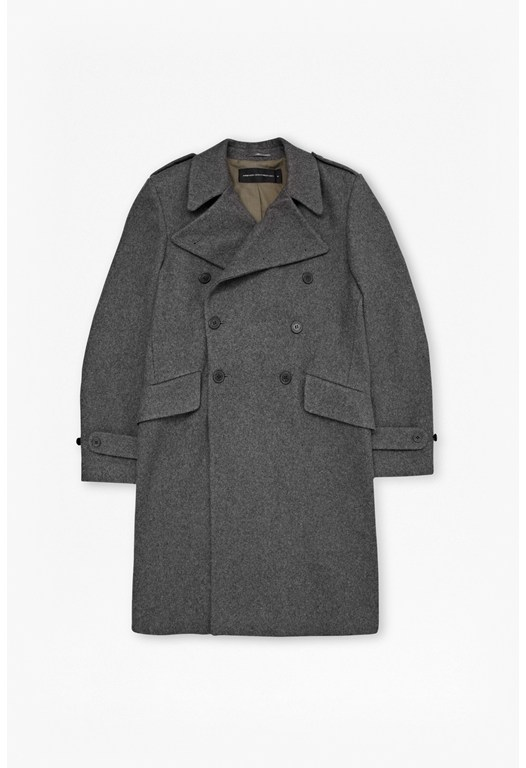 Cavalry Wool Coat