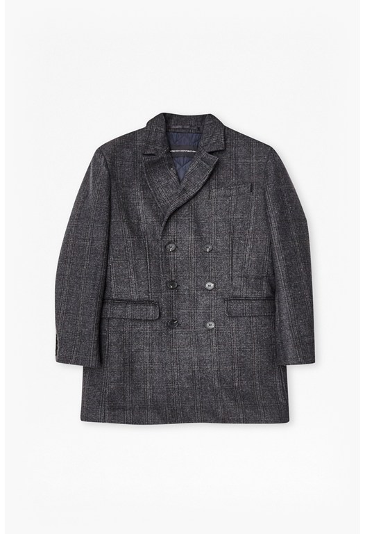 Fine Tweed Wool Coat