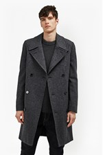 Looks Great With Drake Wool Double Breast Peacoat