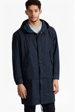 Looks Great With Lightweight Nylon Detachable Parka Coat