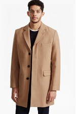 Looks Great With Marine Melton Tailored Coat