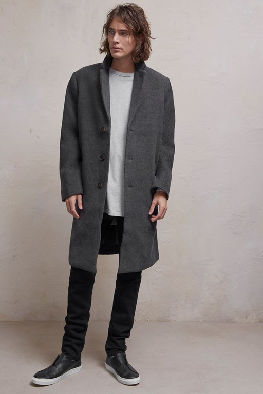 Complete the Look Loose Wool Coat