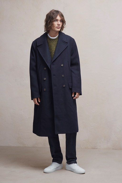 Complete the Look Cabafeltro Wool Melton Long Coat