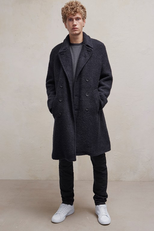 Complete the Look Boucle Coated Coat