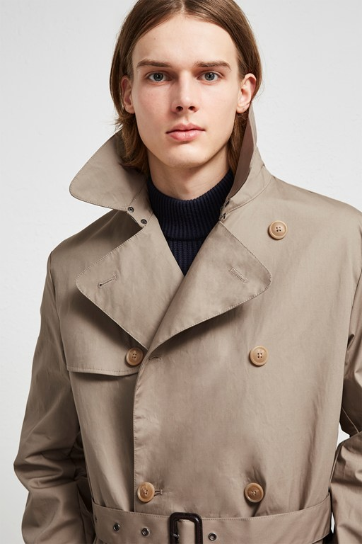 Complete the Look Waterproof Trench Coat