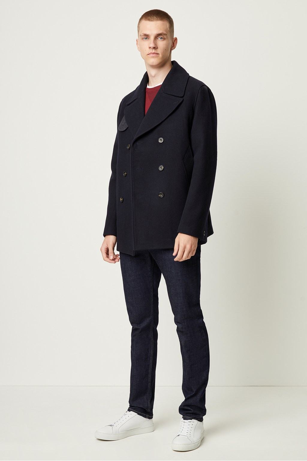 autumn shoes entire collection perfect quality Winter Melton Peacoat