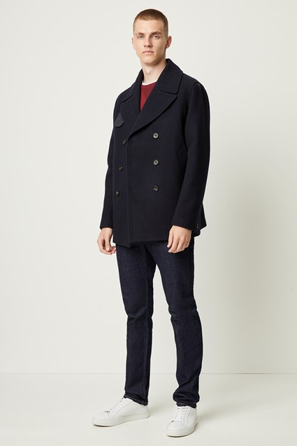Winter Melton Peacoat