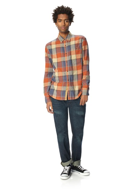 Grapple Twill Check Shirt