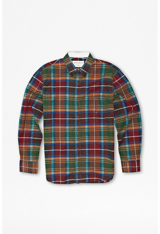 Essential Brushed Twill Check Shirt