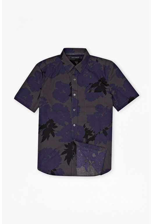 Lunda Short-Sleeved Floral Shirt