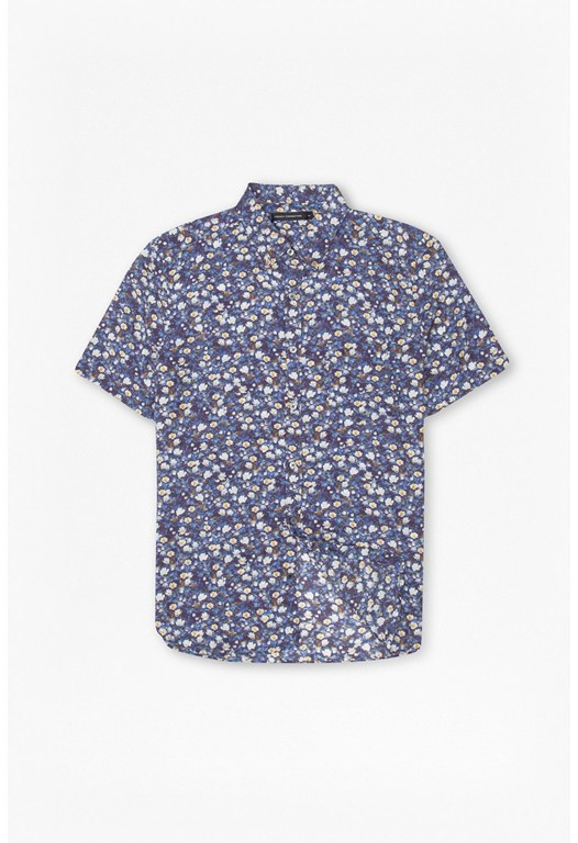 Monet Freedom Floral Print Shirt