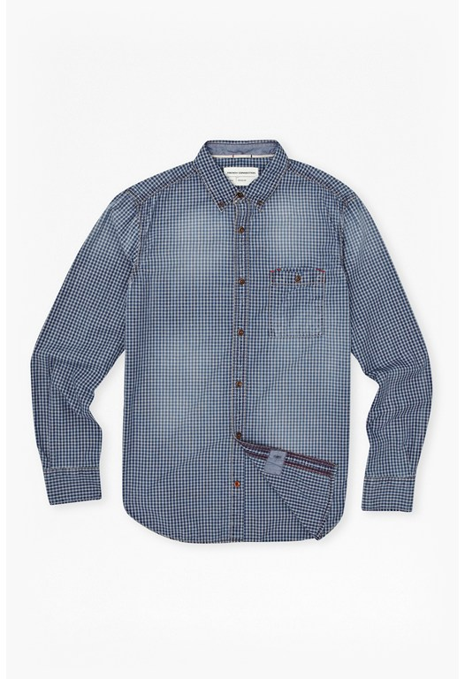 Simple Indigo Shirt