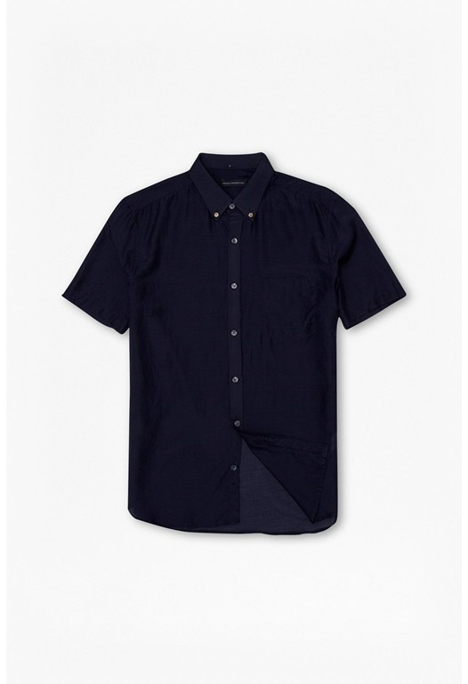 Plain Connery Cotton & Silk Shirt