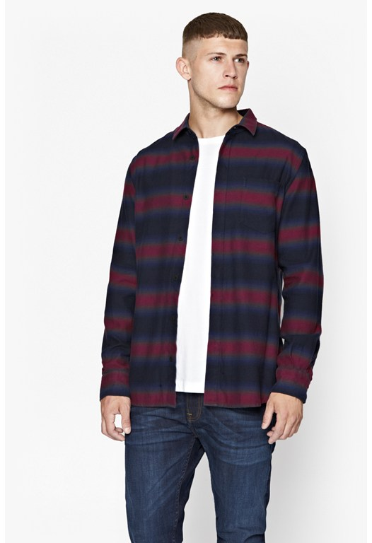 Bailey Ombre Striped Shirt