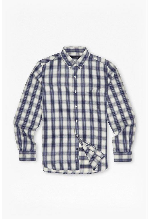 Clemence Ombre Checked Shirt
