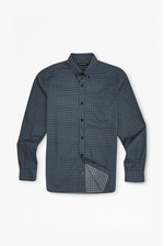 Looks Great With Blurred Overlay Checked Shirt