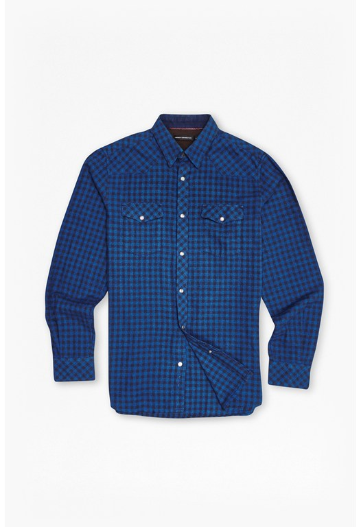Golden Eternity Grindle Gingham Shirt