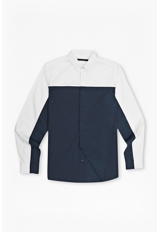 Block Sport Stretch Po[lin Shirt