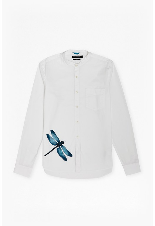 Dragonfly Cotton Brosnan Shirt
