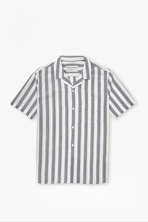 Mithun Stripe Short Sleeved Shirt