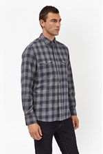 Looks Great With Blue Monday Check Shirt