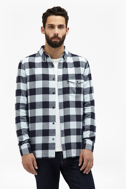 Complete the Look Pop Flannel Plaid Shirt