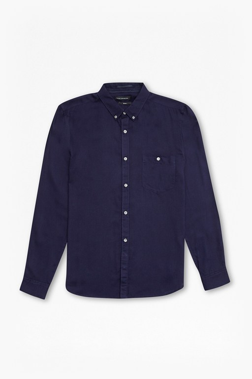 Complete the Look Rayon Shirting Slim Fit Shirt