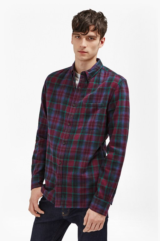 Complete the Look Double Ridge Flannel Shirt