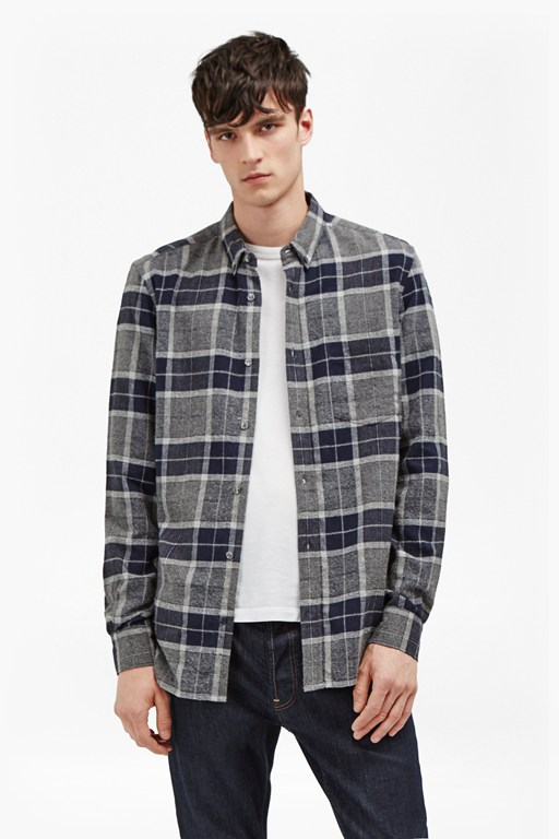Complete the Look Large Check Flannel Shirt