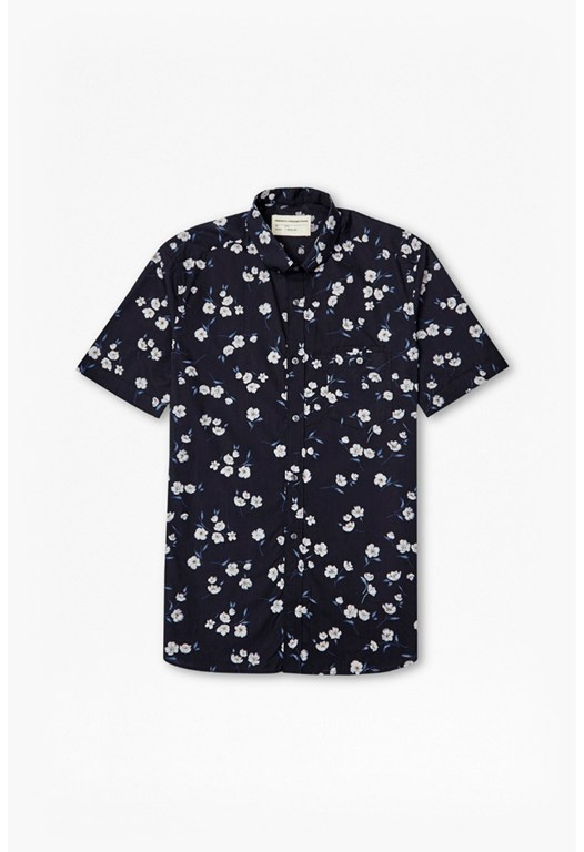 Fats Floral Short Sleeved Shirt