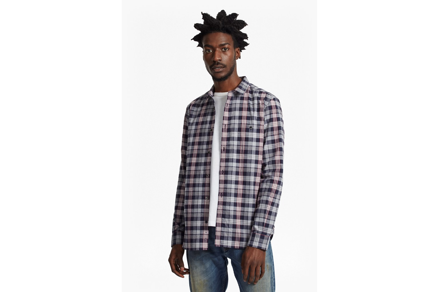 Twill Check Regular Fit Shirt