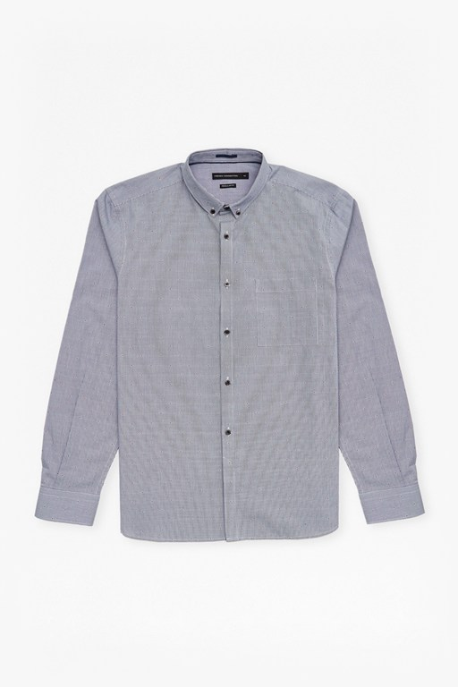Complete the Look Gingham Dot Regular Fit Shirt