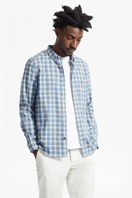 Tartan Peached Regular Fit Shirt