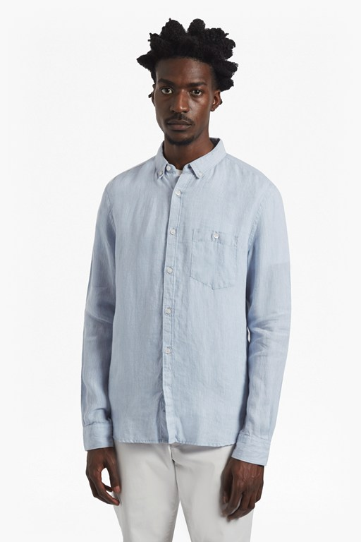 Complete the Look Linen Striped Shirt