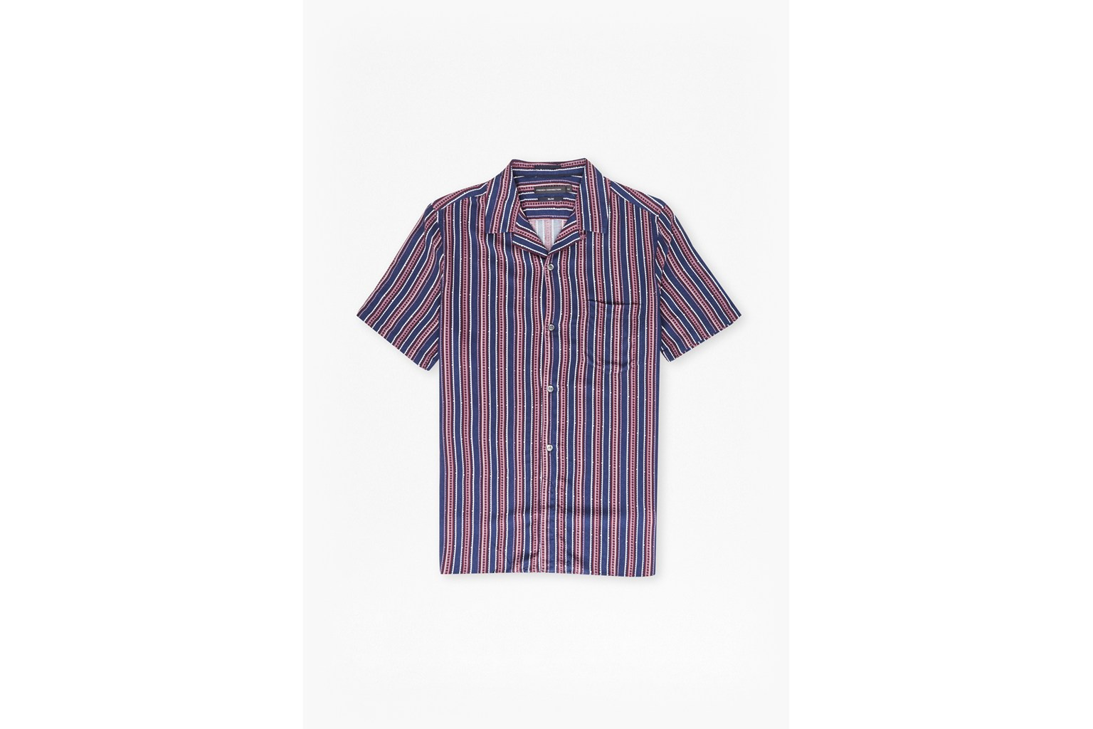 Kaha Viscose Cuban Collar Shirt
