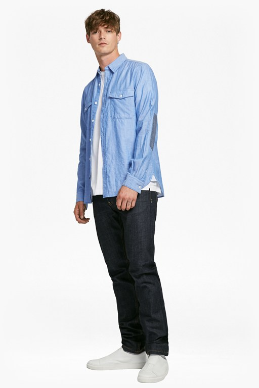 Complete the Look Double Chambray Shirt