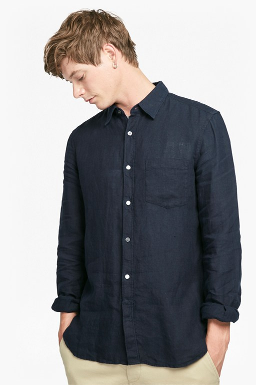 Complete the Look Relaxed Linen Shirt