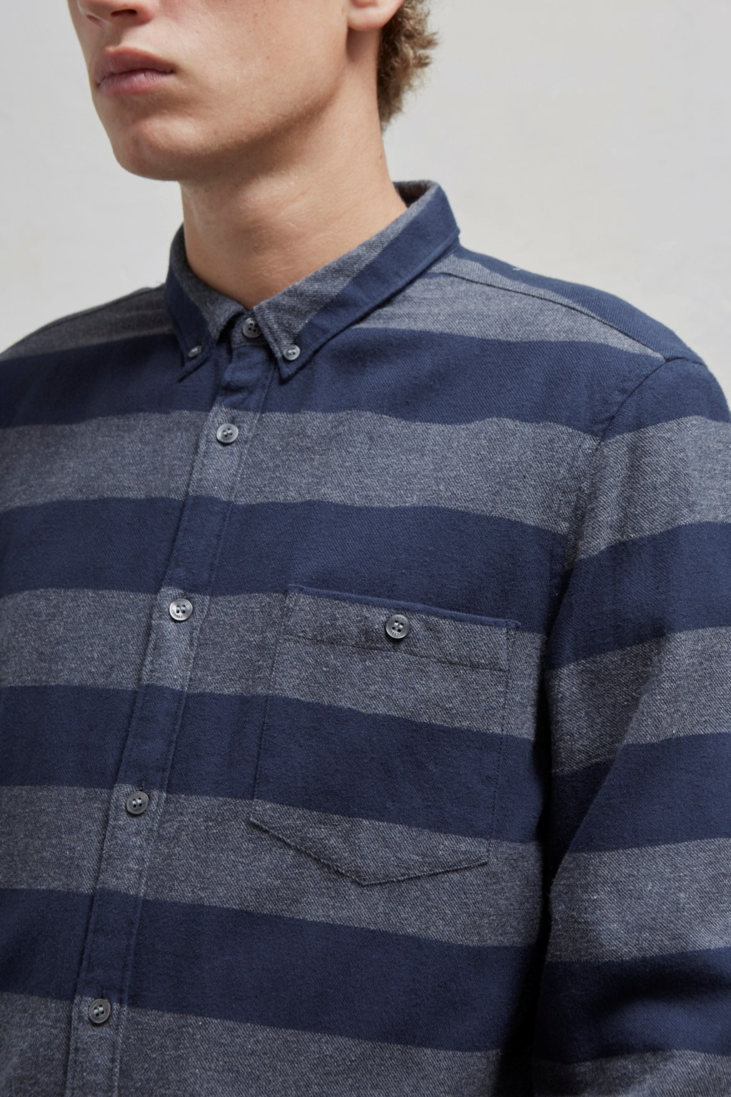 e1b1daaa8 Classic Flannel Stripe Shirt   Mens Sale   French Connection Usa