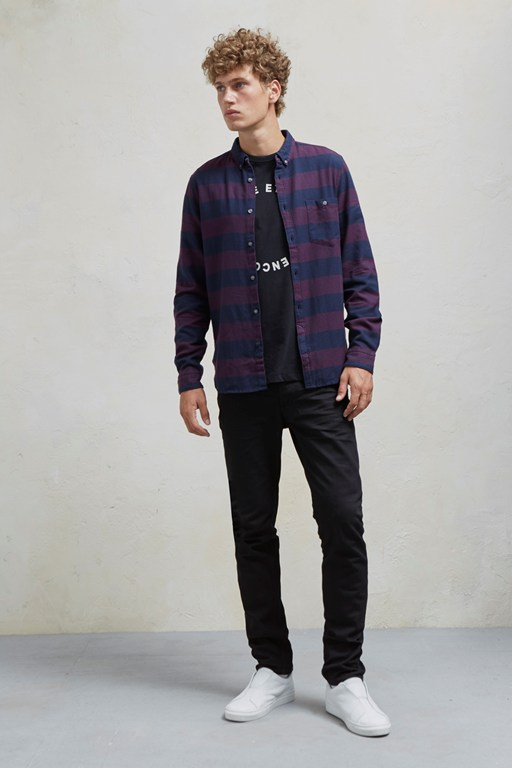 Complete the Look Classic Flannel Stripe Shirt