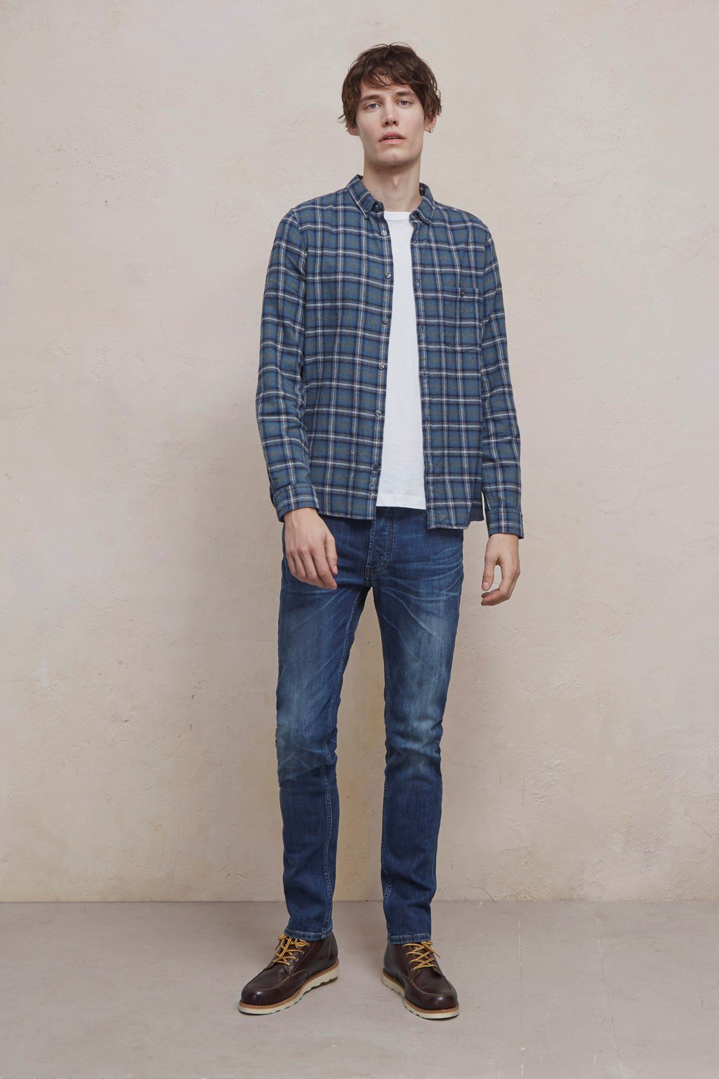 Classic Flannel Check Shirt