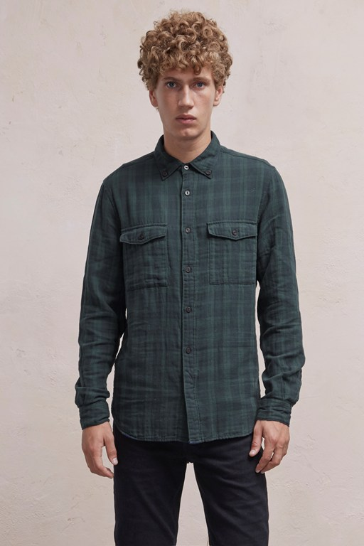 Complete the Look Blackwatch Double Checked Shirt