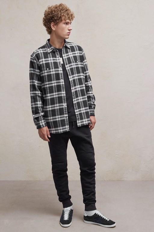Complete the Look Yarn Dyed Twill Overcheck