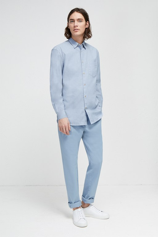 end on end loose collared shirt
