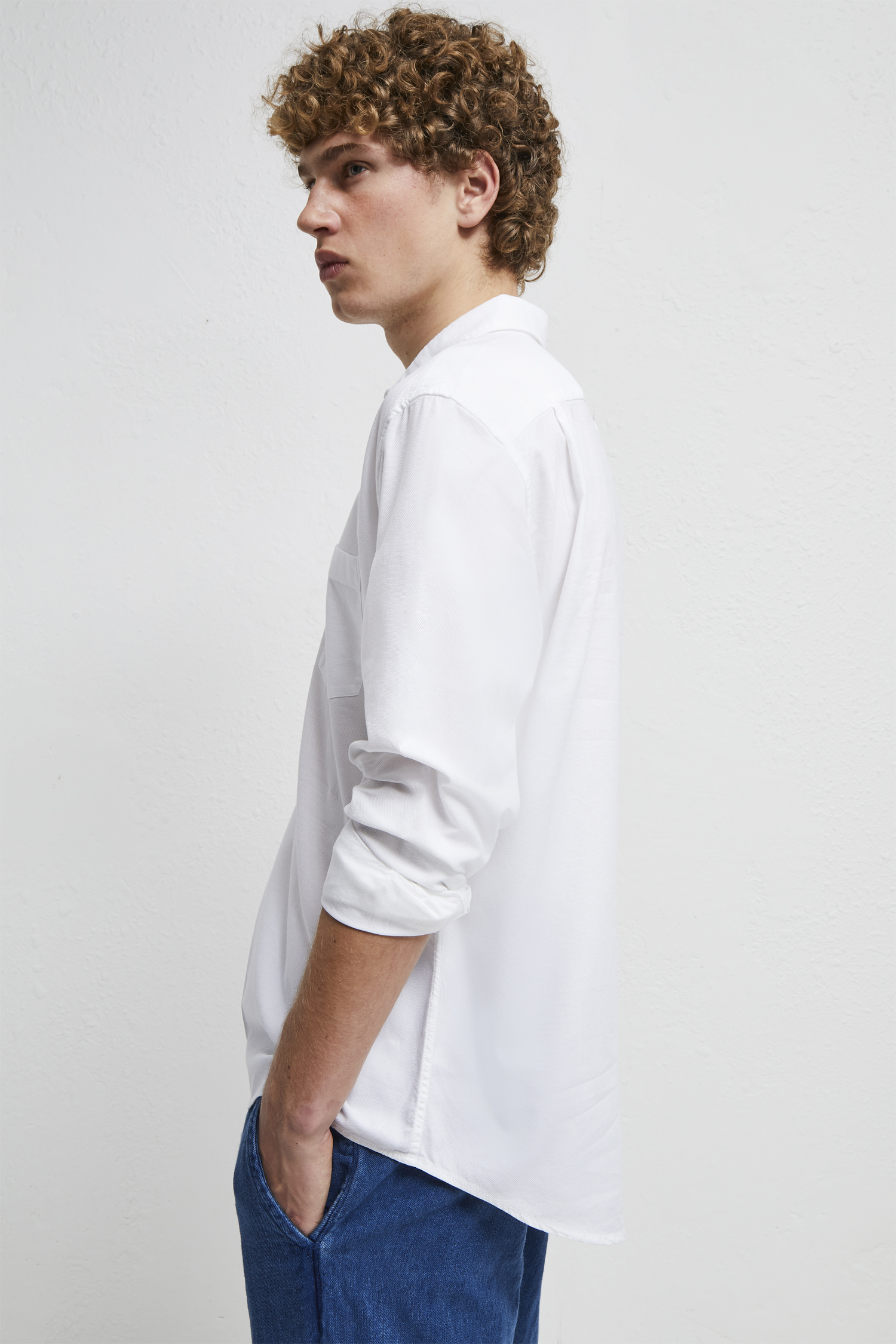 Pique Pop Over Shirt by French Connection