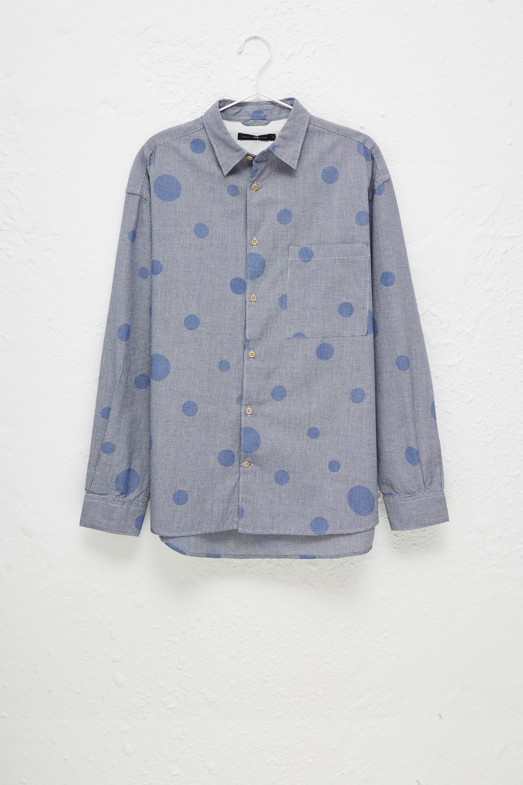 Gingham Bubble Long Sleeve Shirt