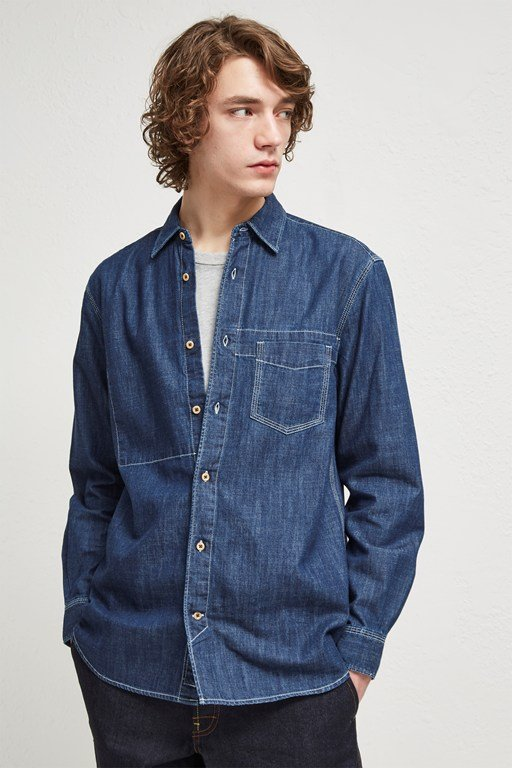 core denim shirting