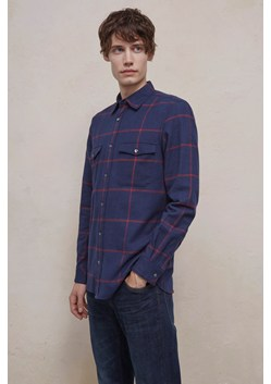 Windowpane Flannel Shirt
