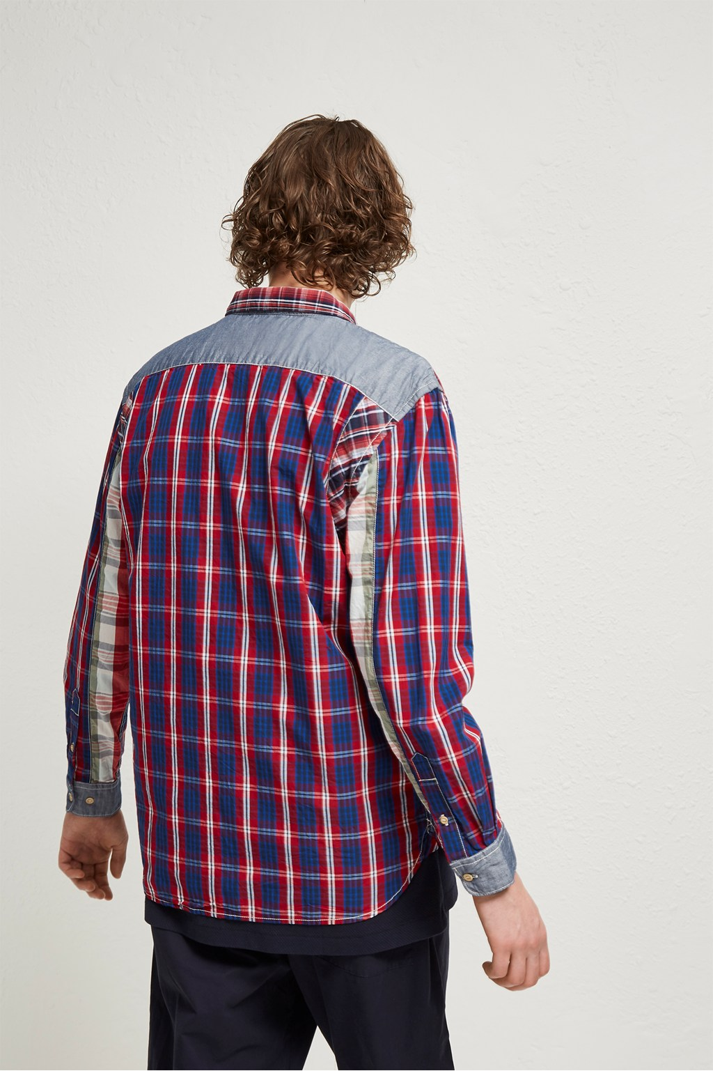 Outline Patchwork Shirt | Mens Sale | French Connection Usa